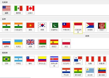 34个国家的海关数据